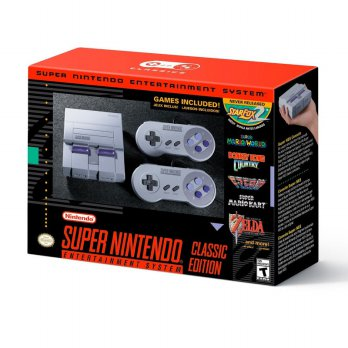 SNES Mini Classic Edition - Super Nintendo (USA Version)