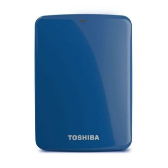 Toshiba Hardisk Eksternal Canvio Connect 500GB Blue