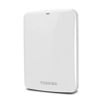 Toshiba Hardisk Eksternal Canvio Connect 500GB White