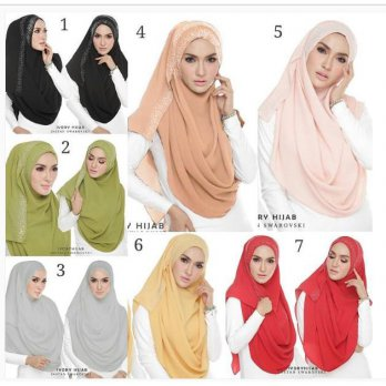 Pashmina Instant Ivory 2faces