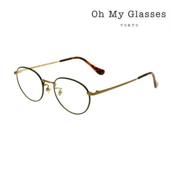 [Best Item] OH MY GLASSES TOKYO Frame omg-055 BRD-48 48 / 100% Authentic / From Japan