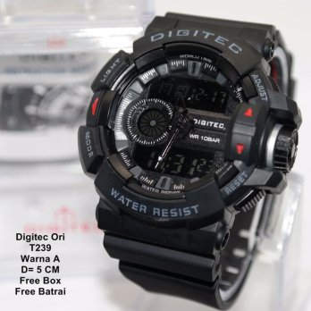 Jam Tangan Pria / Jam Tangan Murah Digitec Cleron Fashion One Color