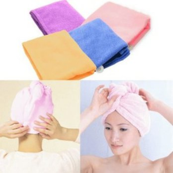 Magic Towel Microfiber / Handuk Kepala A235