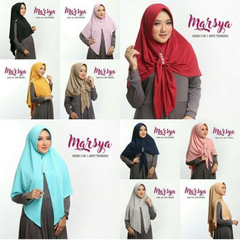 Marsya Hijab 3in1