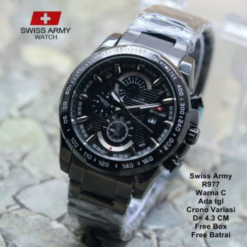Jam Tangan Pria / Jam Tangan Murah Swiss Army Ticon Fashion Three