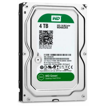 HARDDISK INTERNAL WD 4TB GREEN (WD40EZRX)