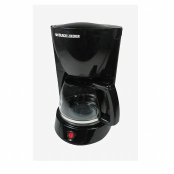 Black+Decker DCM600B1 Coffee Maker Kapasitas 8-10 Cangkir - Hitam