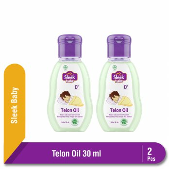 Twinpack Sleek Baby Telon Oil 30 ml Botol