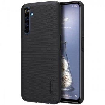 Hard Case Realme 6 Pro Nillkin Frosted - Black