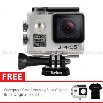(Siap Kirim) BRICA B-PRO 5 Alpha Edition Version 2 (AE2) 4K WIFI Action Camera