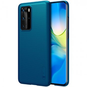 Hard Case Huawei P40 Pro Nillkin Frosted - Peacock Blue