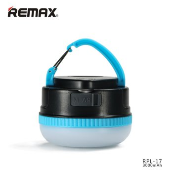 Remax Ye Power Bank 3000mAh Portable Outdoor LED Lamp Senter - RPL-17