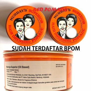 POMADE MURRAY MURRAYS SUPERIOR HEAVY OILBASED OIL BASED SUDAH BPOM + FREE SISIR