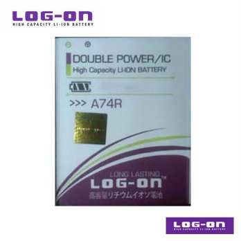 LOG-ON Battery For Evercoss A74R- Double Power & IC - Garansi 6 Bulan