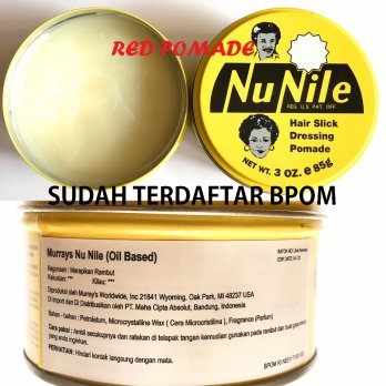 POMADE MURRAY MURRAYS NU NILE / NUNILE 3 OZ OILBASED OIL BASED SUDAH BPOM + FREE SISIR