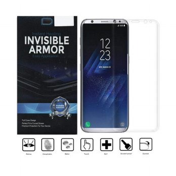 Invisible Armor Full TPU Screen Guard for Samsung Galaxy S8 - Transparan