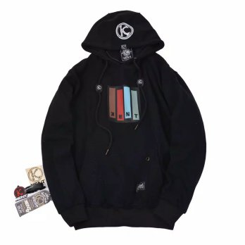 Kent Jaket Sweater Original - KNT 144 WARNA HITAM  FULL COTTON