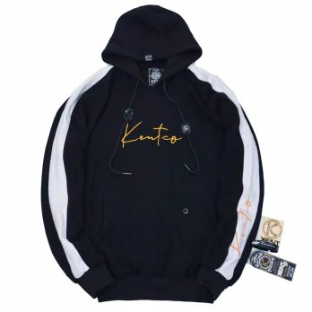 Kent Jaket Sweater Original - KNT 145 WARNA HITAM FULL COTTON