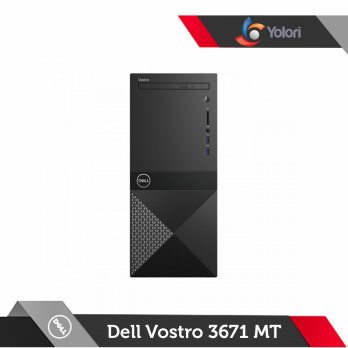 Dell Vostro 3671 MT [Ci3-9100, 4GB, 1TB, AMD 2GB, Windows 10 Pro]+Dell Monitor E2016HV