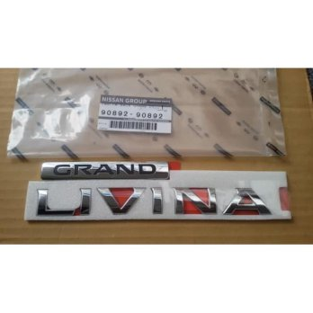 Grand Livina New L11 Emblem Bagasi Back Door GRAND LIVINA