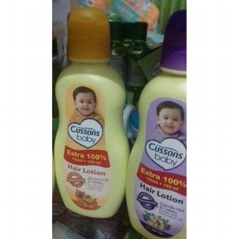 hair lotion cussons baby isi 100 +100 ml