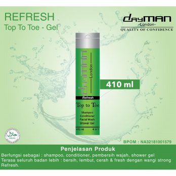 Dayman Top to Toe Refresh 410 ml