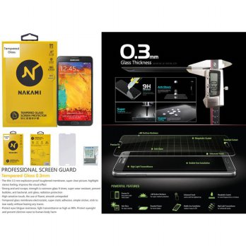 Nakami Tempered Glass Samsung Galaxy Note 3 N9000