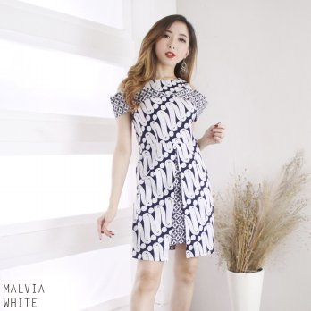 MALVIA DRESS - DRESS BATIK WANITA