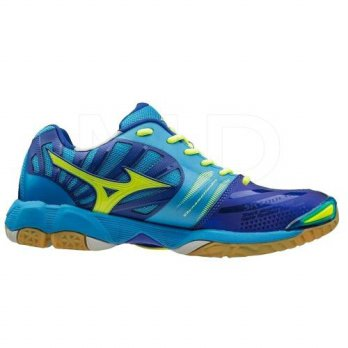 Mizuno Wave Tornado X - Diva Blue/Neon Yellow/Surf the Web