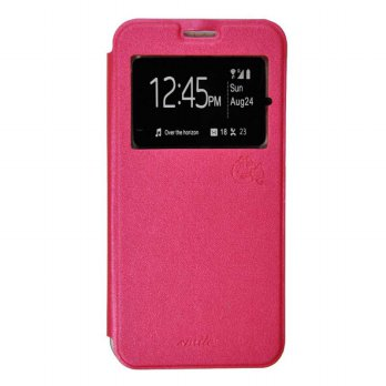 Smile Flip Cover Case Samsung Galaxy S7 - Hot Pink