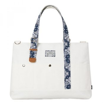 [Stidie] hound carry on paisley-white