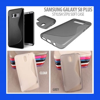 Samsung Galaxy S8 Plus Stylish STPU Soft Case Casing Cover