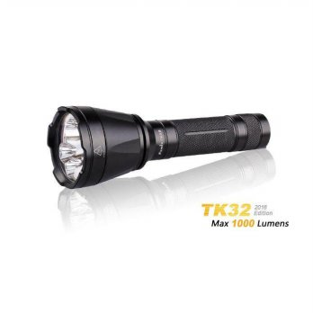 Fenix TK32 2016 Edition Flashlight - CREE XP-L HI V3 LED - 1000 Lumens - Uses 2 x CR123A or 1 x 18650