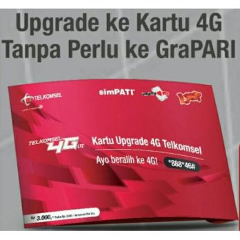 Kartu Perdana Upgrade 4g Telkomsel  (Simpati - As - Loop)