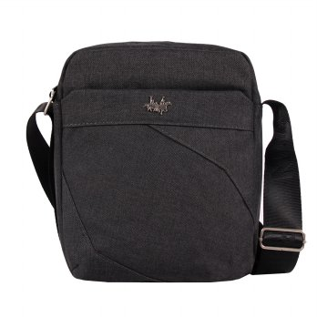 Polo Twin Sling Bag 538-06 Black