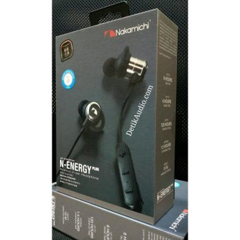 Nakamichi Wireless Earphone water Resistance IPX4 N-ENERGY PLUS Sport BT Japan