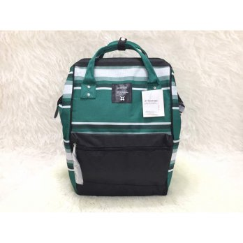 TAS IMPORT BACKPACK ANELLO ORIGINAL - Green Black