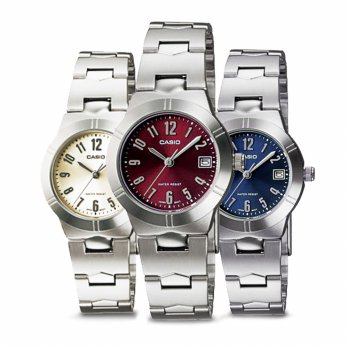 JAM TANGAN CASIO ANALOG LTP-1241 D SERIES LADY WATCH ORIGINAL