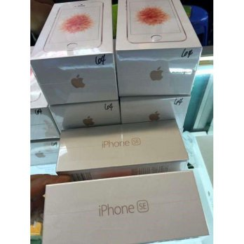 iPhone SE 64GB Rose Gold FU BNIB Garansi Apple 1 Tahun