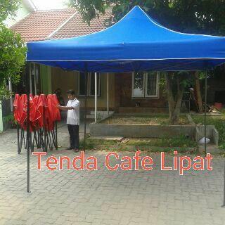 Tenda cafe lipat 2x3