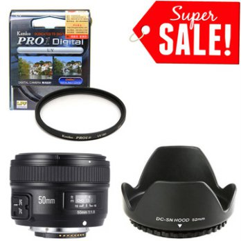 YONGNUO YN 50mm F1.8 For Nikon AF-S (Auto Focus) PAKET HEMAT