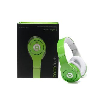 Beats by Dr. Dre Studio Green Headphone OEM Quality Clear Bass Sound
