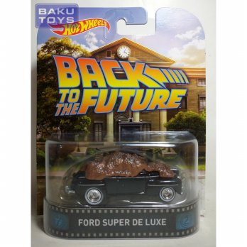 Hot Wheels Retro Ford Super De Luxe Back To The Future