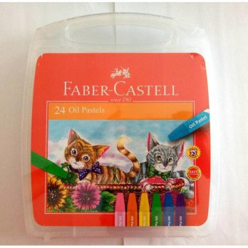 Crayon / Oil Pastels 24 Warna Faber-Castell