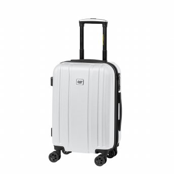 Caterpillar New Orion 20 Inch Luggage - White
