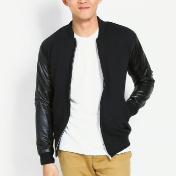 Jaket Baseball Korean Trendy SK - 37