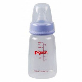 Pigeon Botol PP KP 120ml Purple w/ S-Type Silicone dot