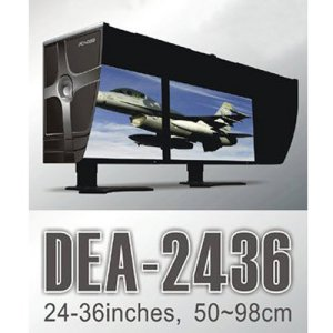 Promotion Period / [Pleasant Thought] Desktop PCHOOD DEA-2436 / Large Monitors LCD Hood / Ships / Fast Shipping !!