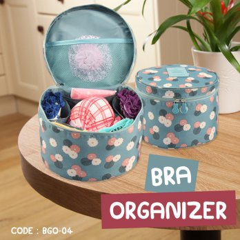 JUAL MURAH BRA Case Bag BULAT - Organizer Travel Bag Bra BGO-04 (BO)