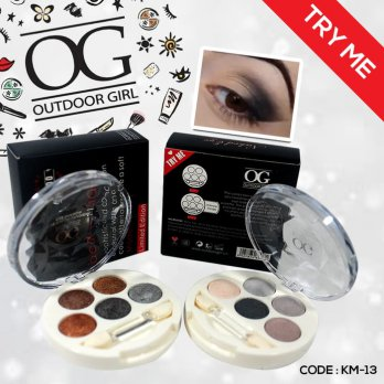 JUAL MURAH OUTDOOR GIRL EYESHADOW (OG EYESHADOW 5 COLORS)